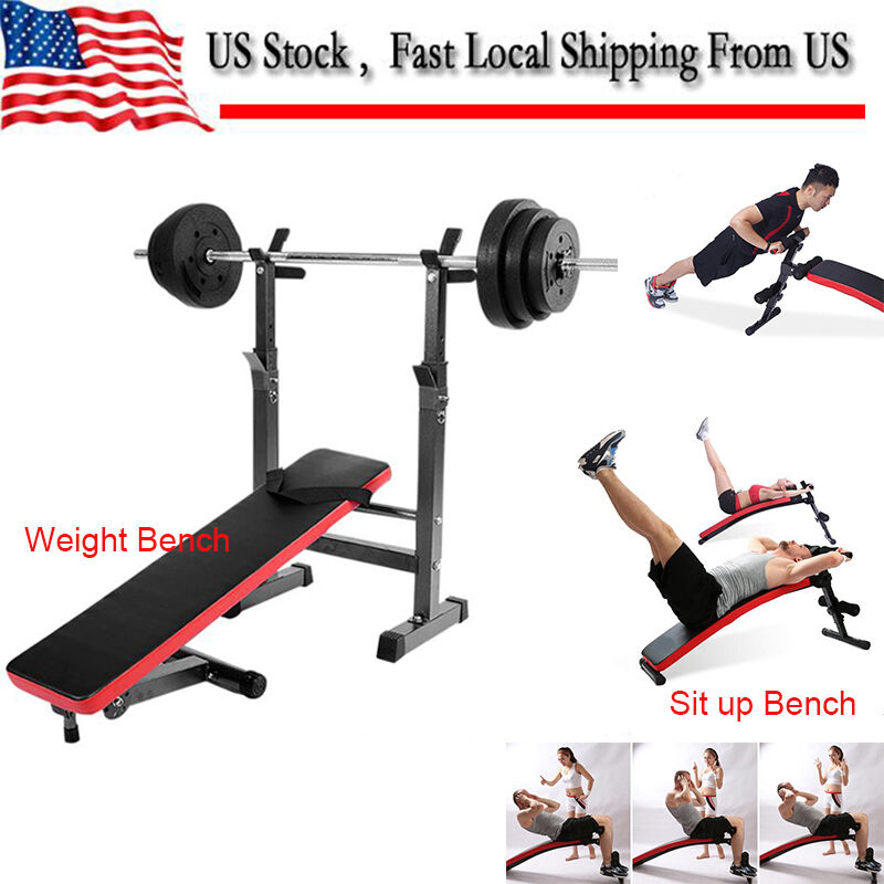 Weight Lifting Gym Fitness Workout Exercise Training Body: Adjustable Weight Lifting Multi-function Bench Fitness