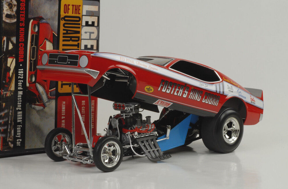 1972 Ford Mustang Foster S Quarter Mile Dragster Funny Car