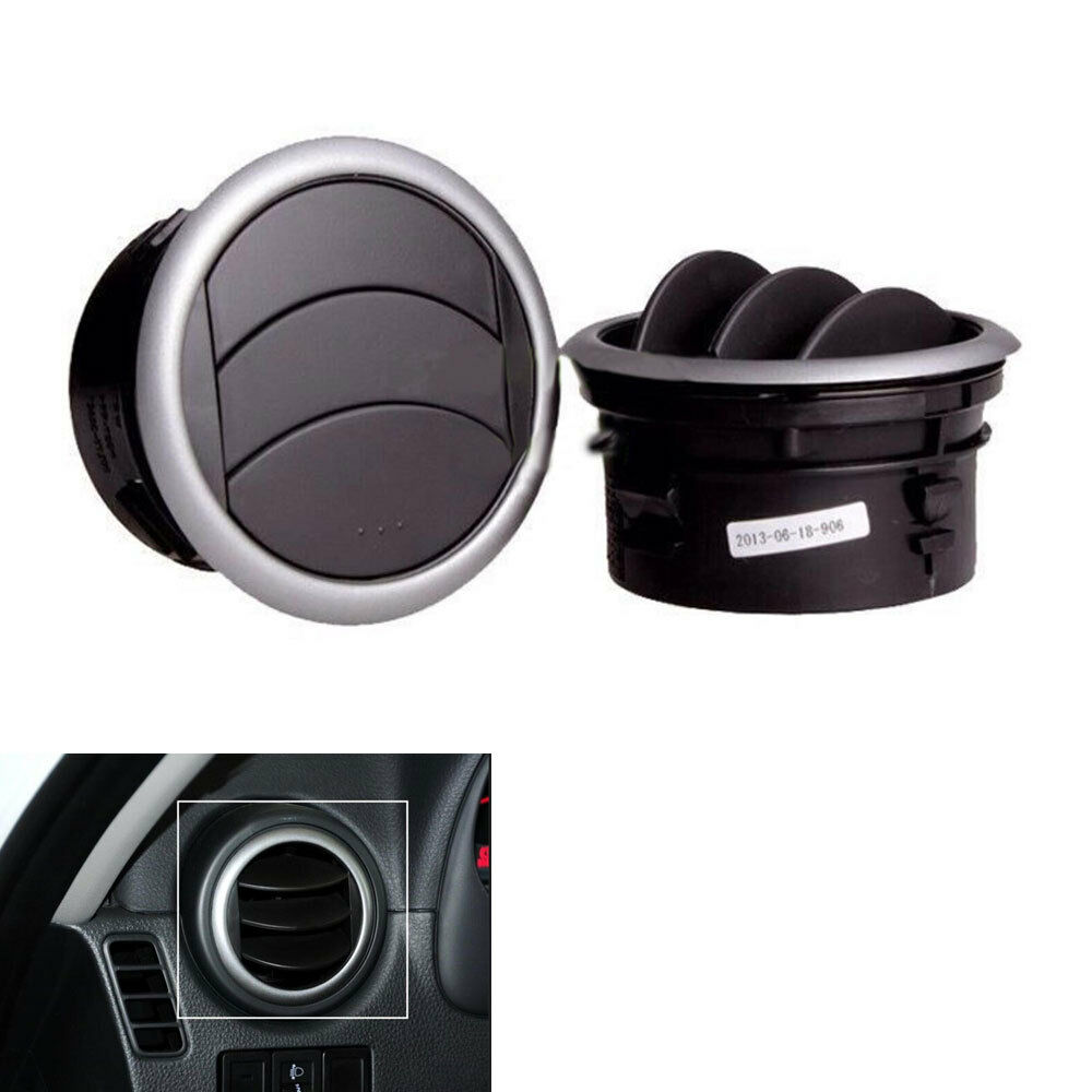 Auto Dashboard Side Vent Ac Air Deflector Outlet Cover For