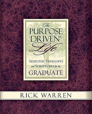 summary of purpose of driven life The purpose-driven life is more than just a book—it is, in rick warren's own   warren attempts to find justification for his statement by quoting ezekiel 3:18 in.