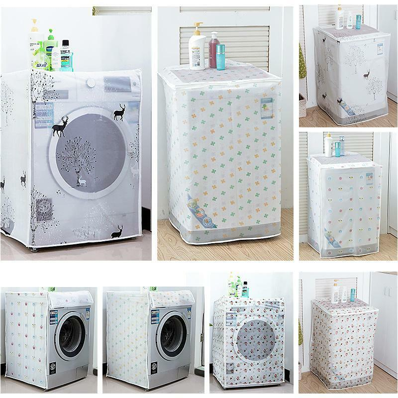 Trendy Washing Machine Dust Cover Protection Durable