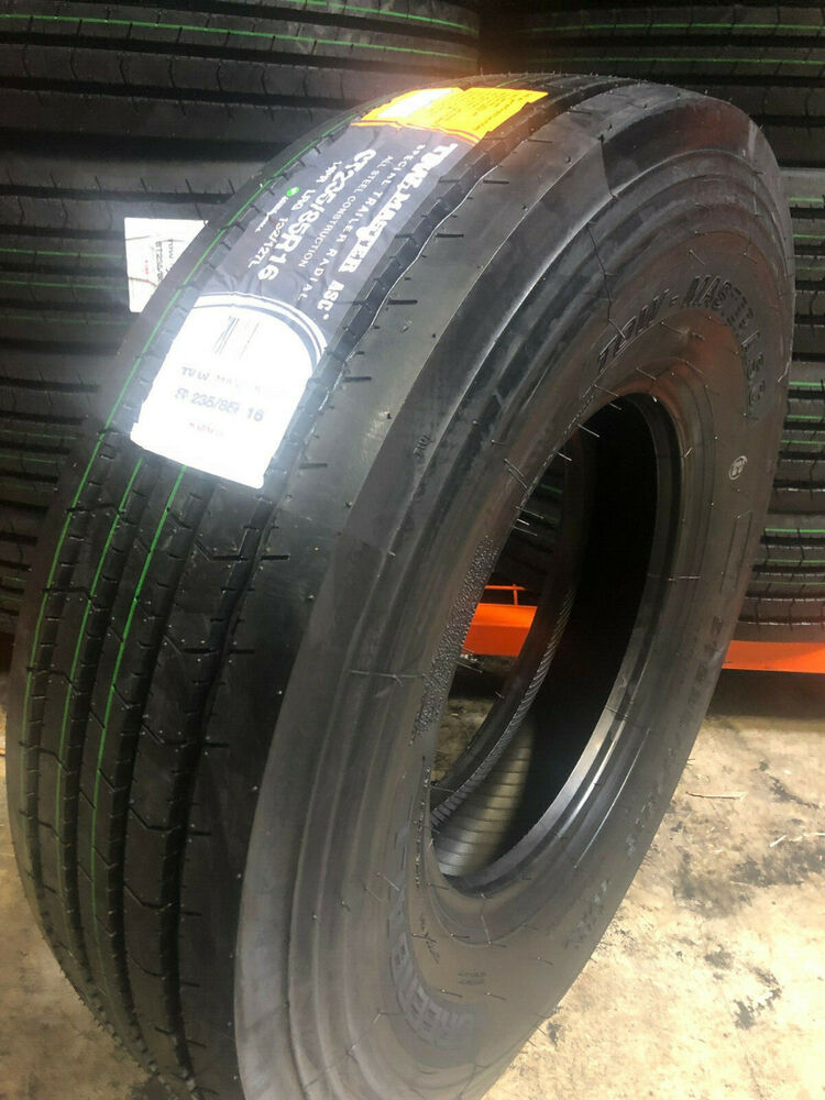 235 ply trailer 85 tire 85r16 r16 steel master tow lrg tires truck parts supply store