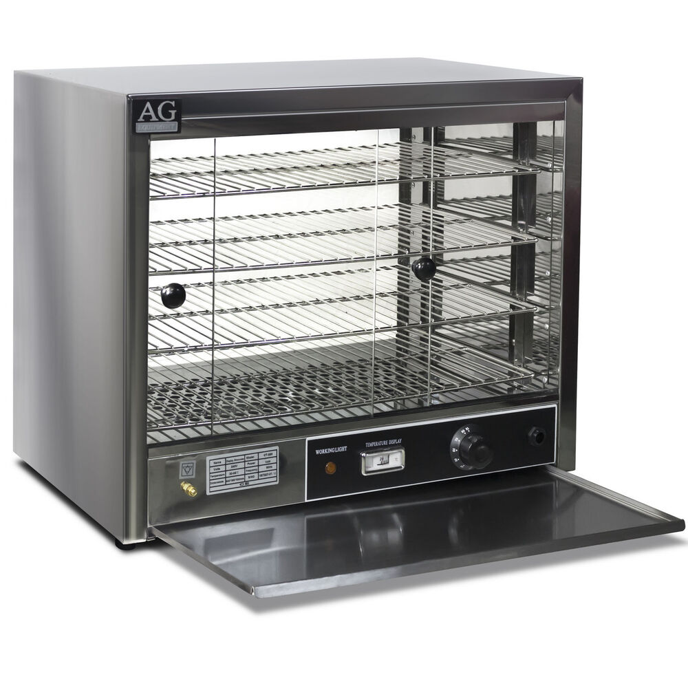 Commercial Food Warmer Cabinet ~ New commercial pie food warmer display cabinet