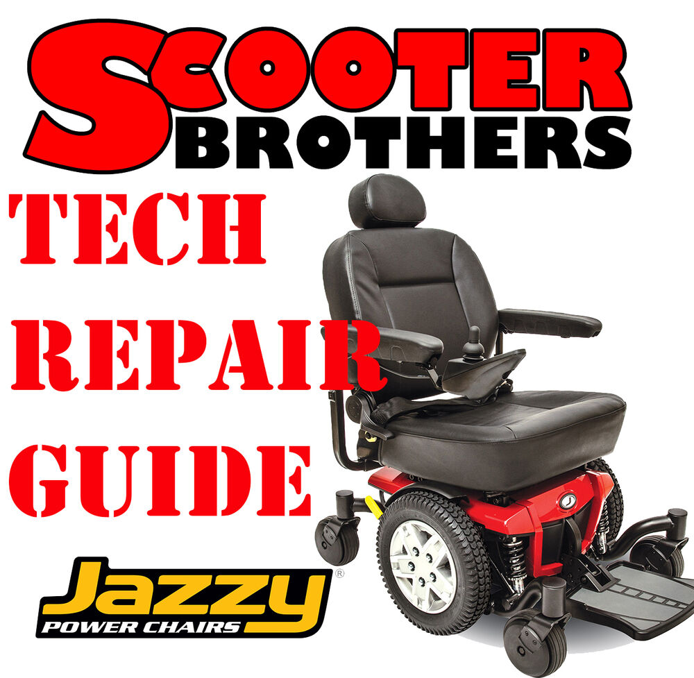 Jazzy 600 600xl Power Chair Technical Service Repair Guide