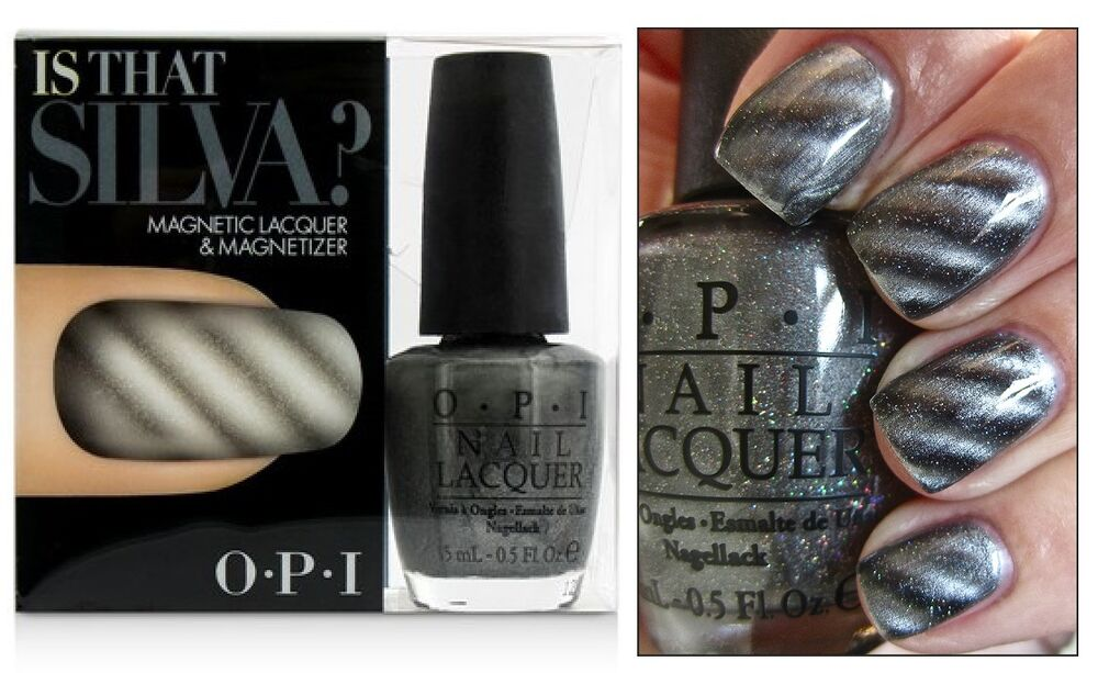 Opi Skyfall Is That Silva Magnetic Gunmetal Grey Nail Polish Lacquer Set D40 Ebay