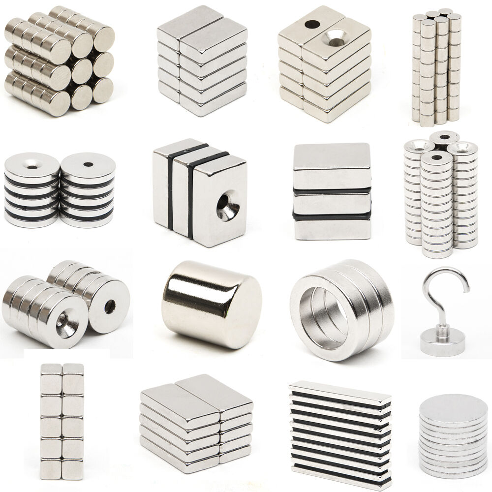 Very strong neodymium magnets n52 grade small countersunk for Small magnets for crafts