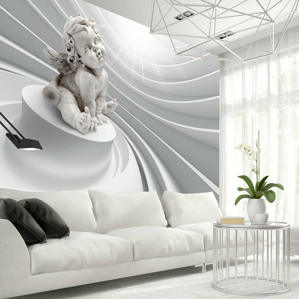 vlies fototapete tapeten xxl wandbilder tapete engel abstrakt 3d a c 0059 a a ebay. Black Bedroom Furniture Sets. Home Design Ideas
