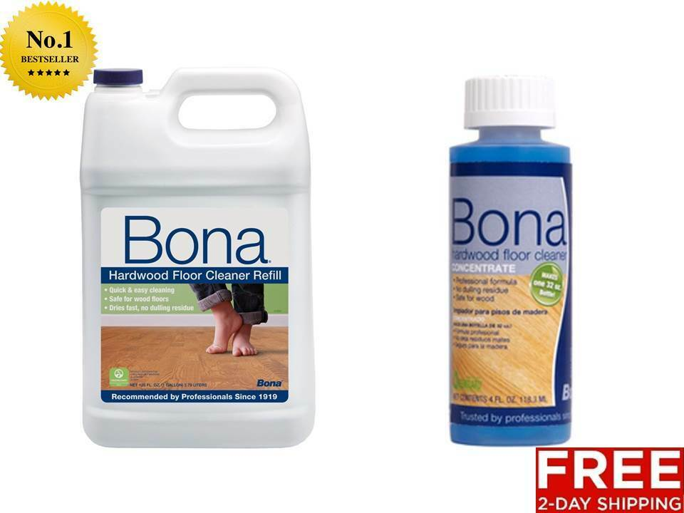 New Bona Pro Series Hardwood Floor House Cleaner Refill Gallon Or Concentrate Ebay