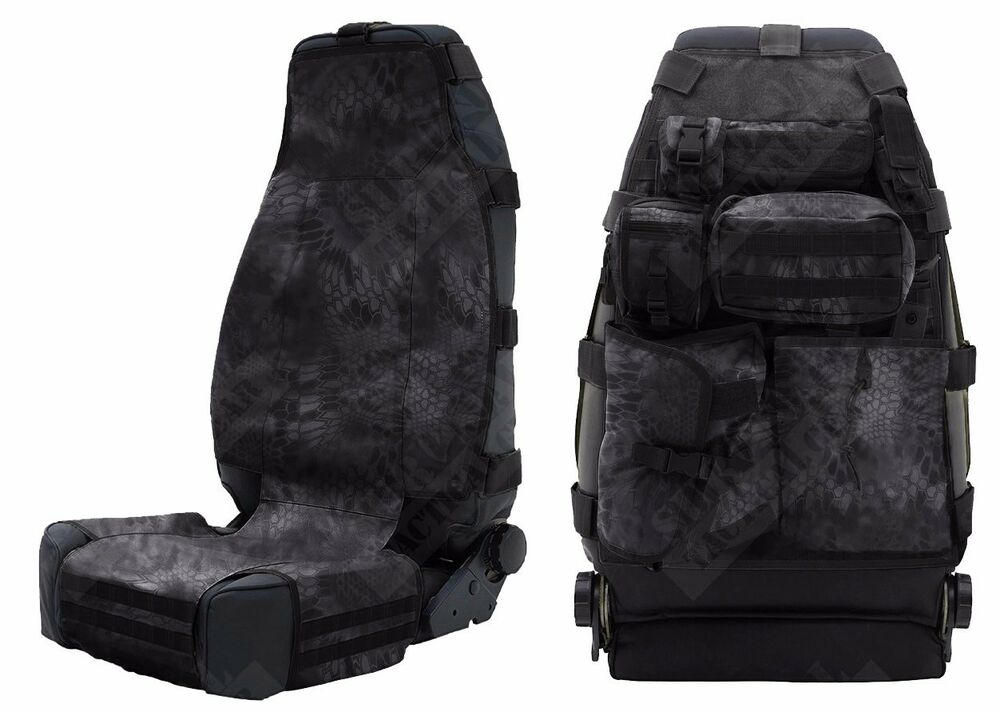 Two Ply 1000D Nylon Universal Front Tactical Seat Cover