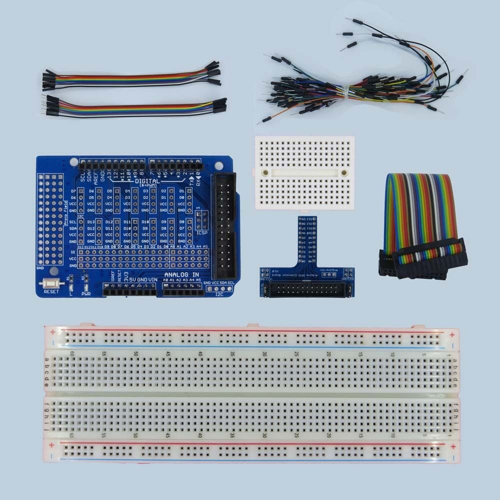 Uno r starter kit extension board for arduino
