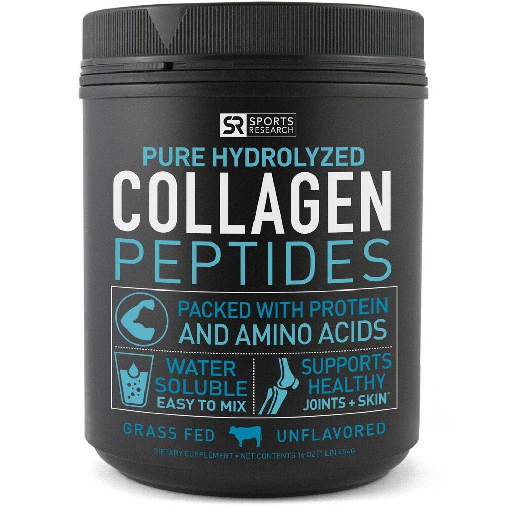 Premium Collagen Peptides 16oz Non Gmo Hydrolyzed Protein