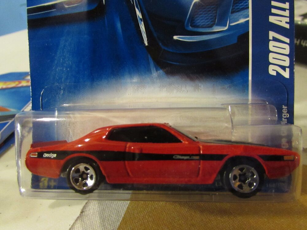 Hot Wheels Dodge Charger 2007 All Stars Red Ebay