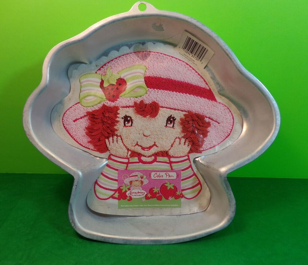2003 Wilton Strawberry Shortcake Character Cake Pan With