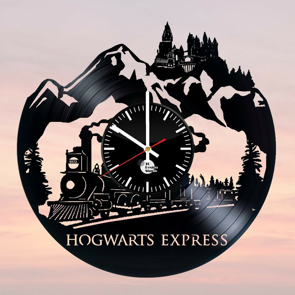 Harry potter hogwarts express vinyl record home living for Vinyl records decorations for wall