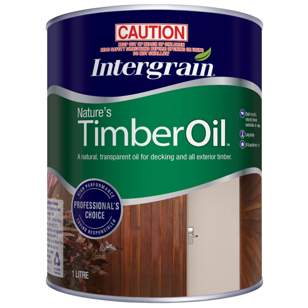 Details about intergrain natures timber oil exterior deck furniture tung oil merbau 1l 4l