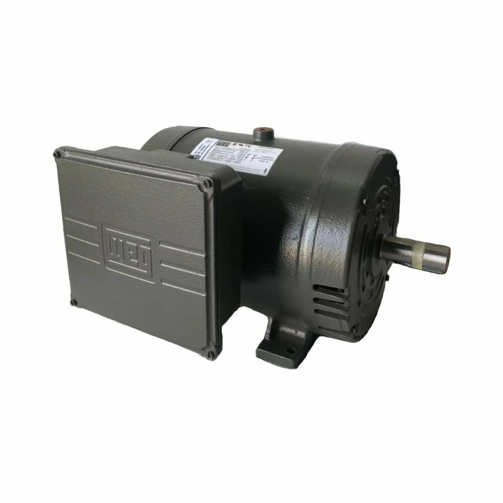 7 5hp Single Phase Baldor Electric Compressor Motor 3450