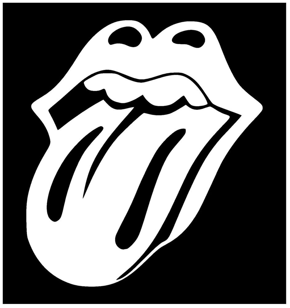 Rolling Stones Tongue Decal Vinyl Sticker For Window Car