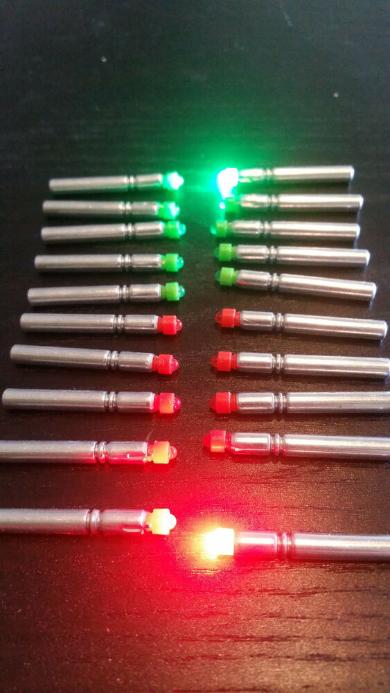 Led bobber light rod tip thill nite brite replacement for Light up fishing bobbers