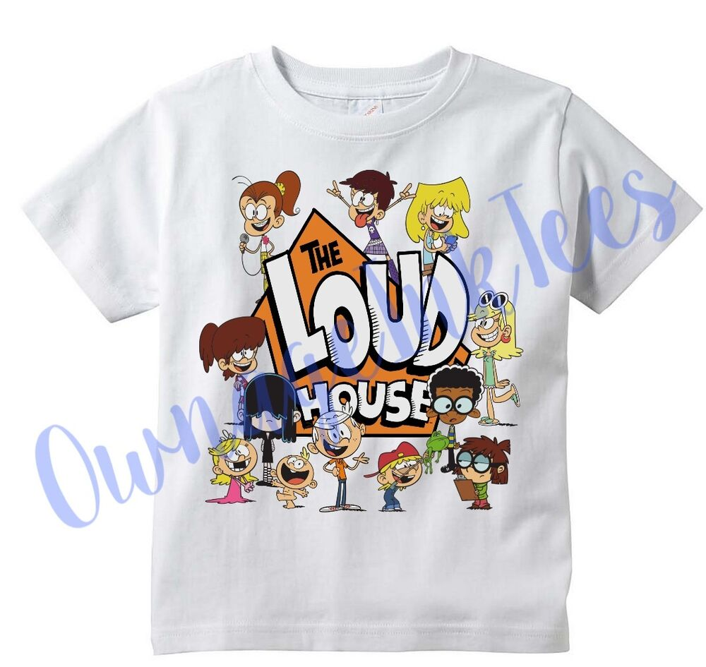 loud house custom t shirt tee toddler youth adult