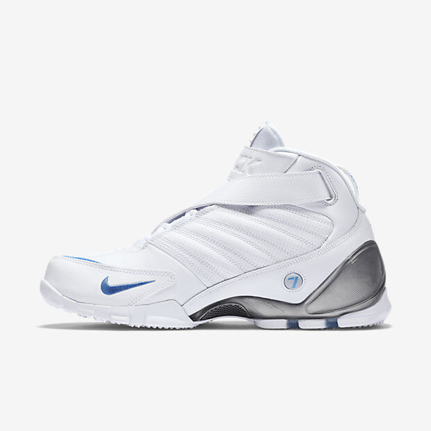 Nike air Zoom Vick III 3 White 832698-100 University Blue Metallic Silver  white | eBay
