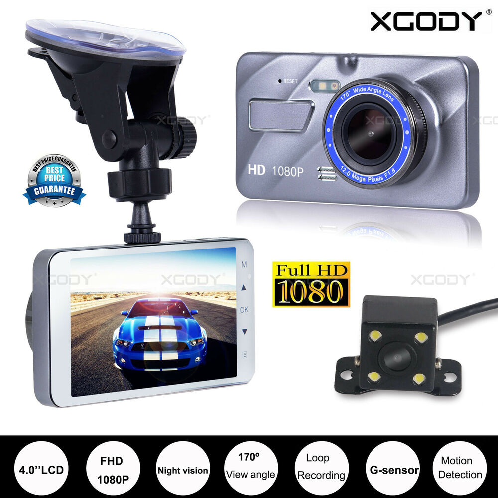 xgody 3 39 39 hd 1080p car vehicle dashboard dvr video camera. Black Bedroom Furniture Sets. Home Design Ideas