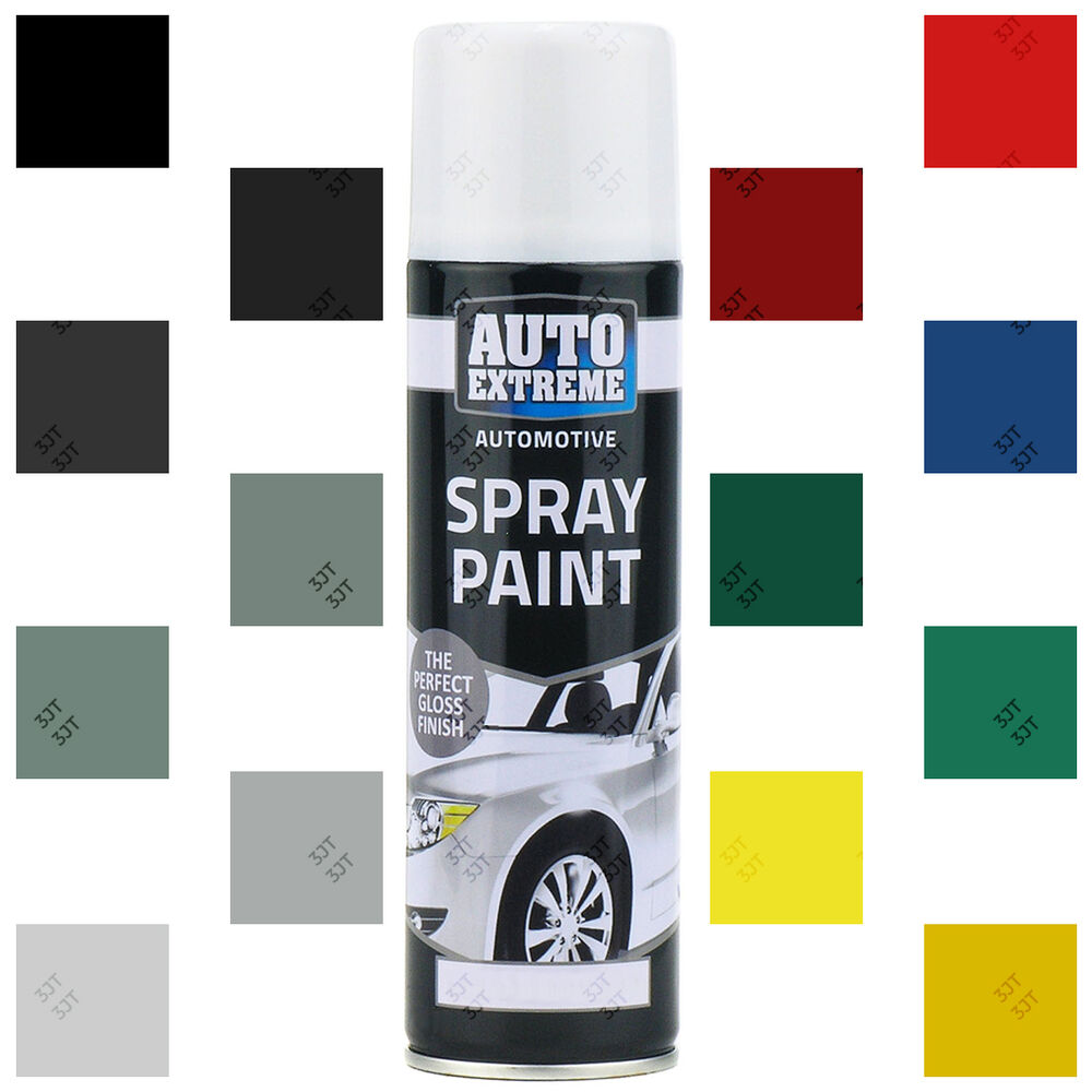 Auto Extreme Aerosol Spray Paint Satin Gloss Matt Primer Grafitti Tint 200 250ml Ebay