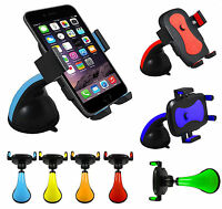 360° Rotating Car Van Truck Windscreen Mount Cradle Holder For Mobile Phones UK