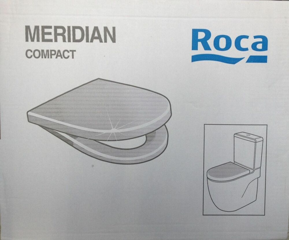 Roca Meridian Compact Toilet Seat Cover 8012ab004 Ebay