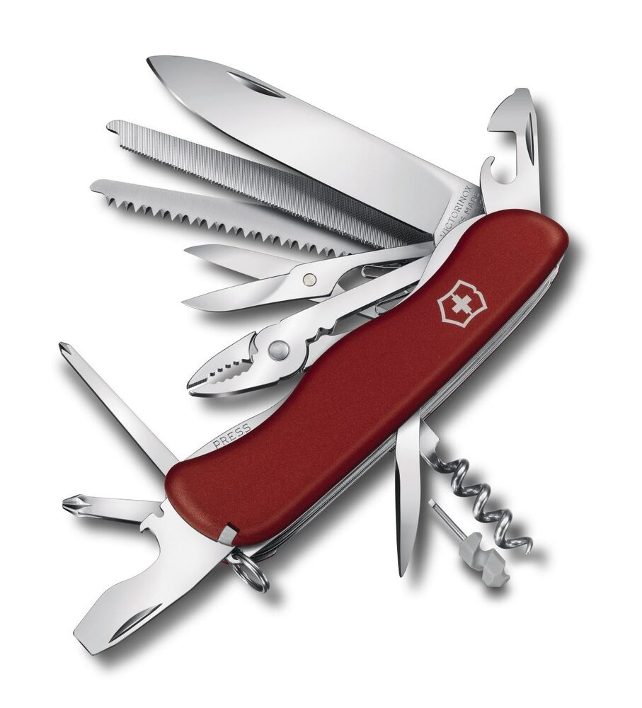 Swiss Army Knife Victorinox Workchamp Xl Black 0 9064