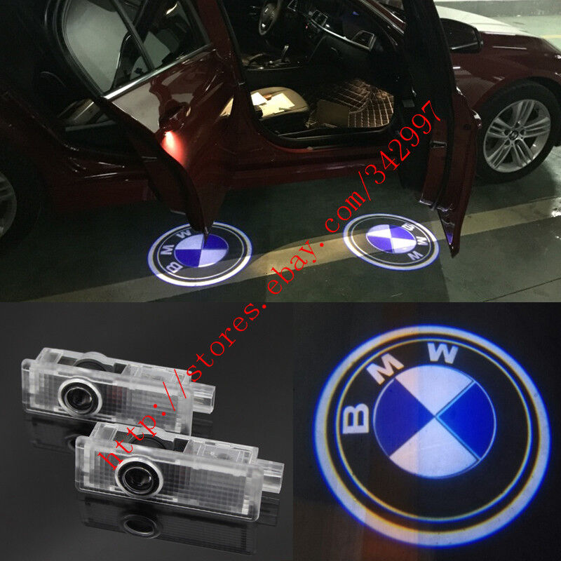 2x Ghost LED Door Step Courtesy Shadow Laser Lights For BMW 1 3 5 7 Series X3 X5 | eBay