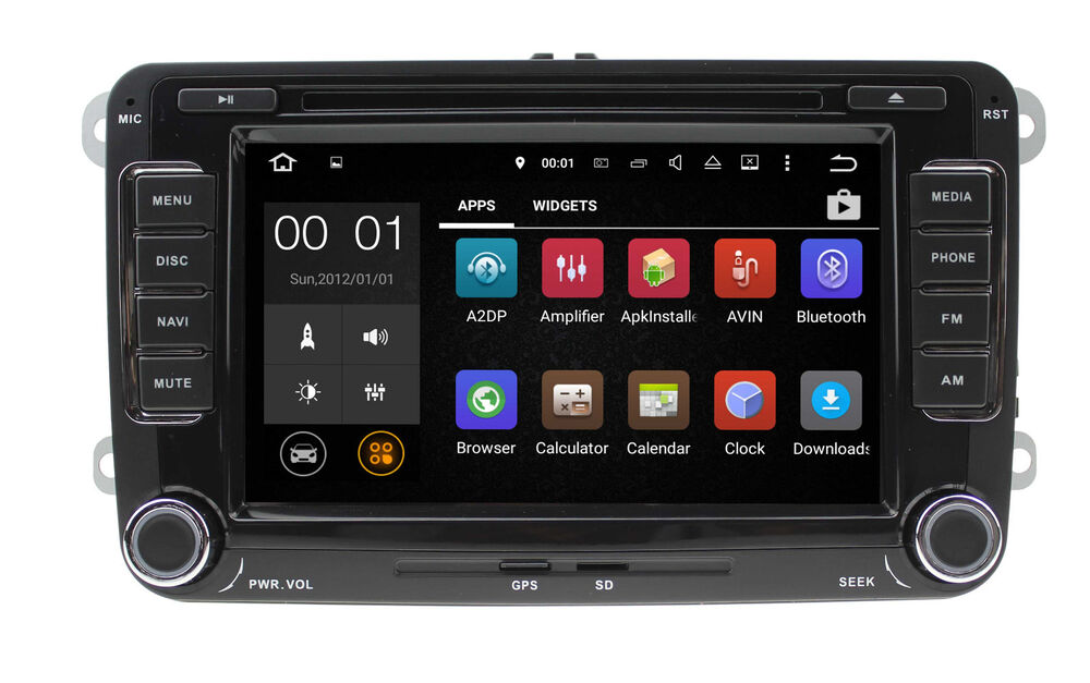 android dab autoradio f vw t5 mp3 seat skoda passat golf. Black Bedroom Furniture Sets. Home Design Ideas