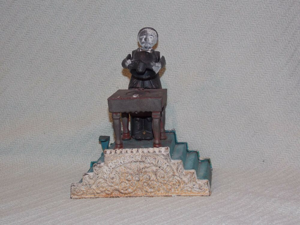 Old Fashioned Mechanical Coin Bank