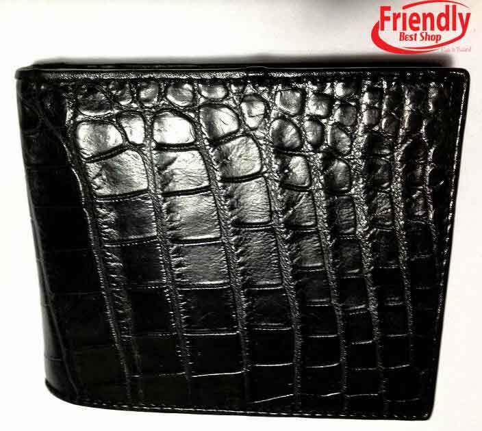 Genuine Crocodile Alligator Wallets Belly Skin Leather