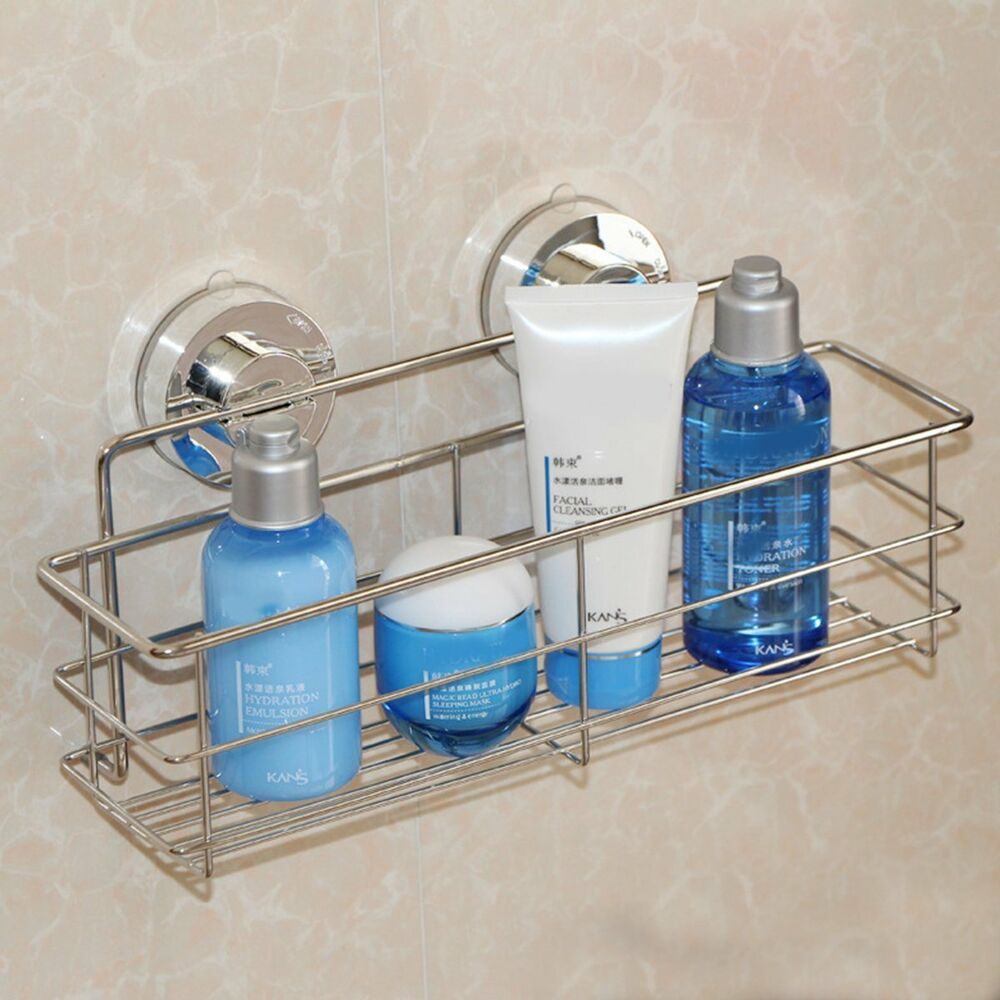 Portable Shower Caddy Shelf Bathroom Wall Corner Rack Storage ...