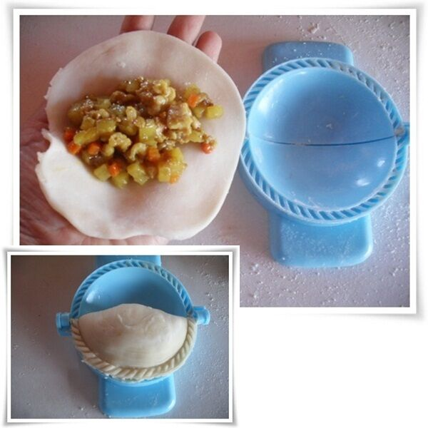 Curry Puff Press Mold Random In Color Thai Traditional Make Food Kitchen Tools Ebay