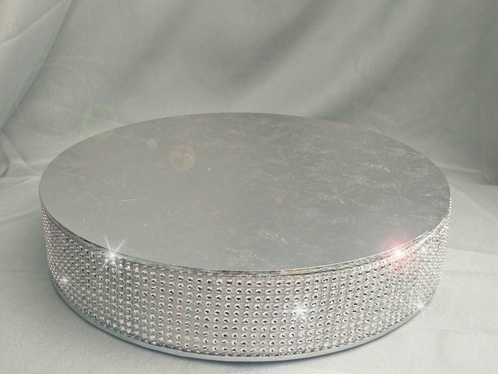 wedding cake stand plateau 2 5 deep 3 meters of diamante cake