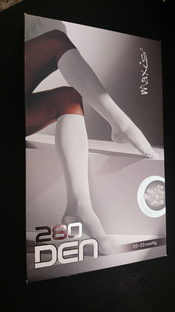 a64e64c0fc Details about Maxis Relax Compression Stockings Knee Highs Travel Socks  Class 1 BLACK ONLY