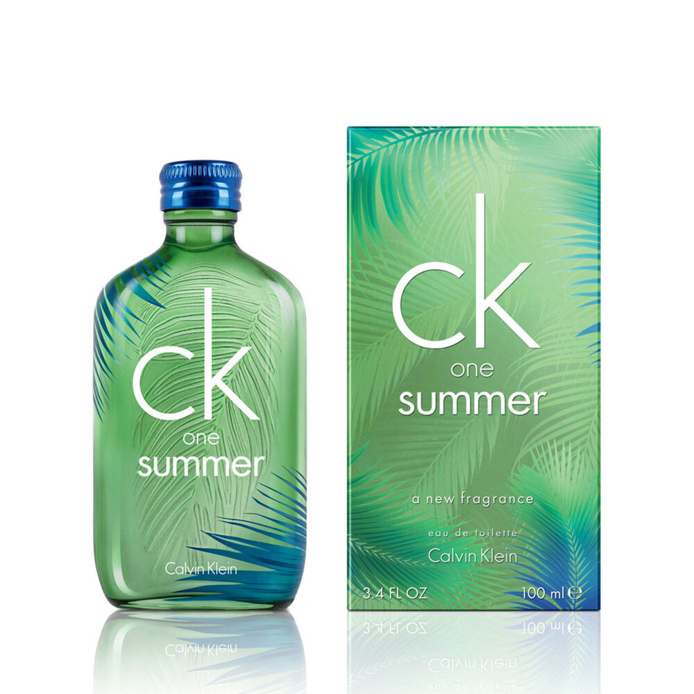 unisex ck one summer 2016 by calvin klein eau de toilette spray 3 4 oz fast ship ebay