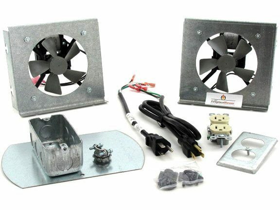 Fk18 Fireplace Fan Kit For Heatilator Fireplaces Ebay
