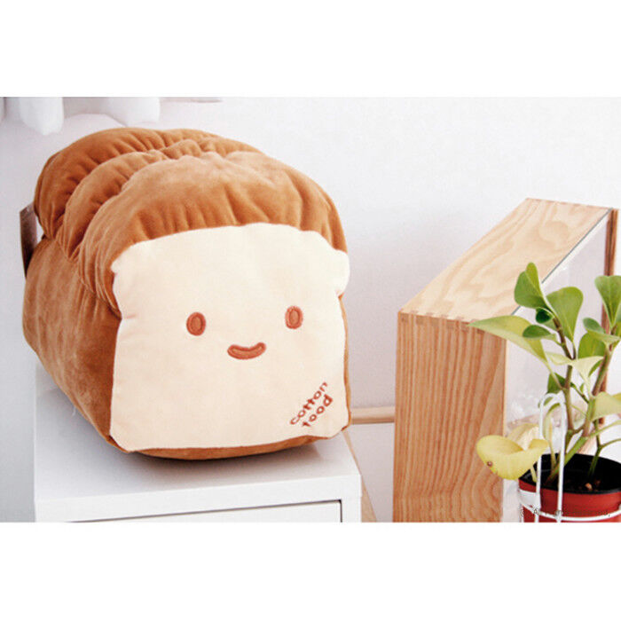 Kawaii Japanese Anime Doll Throw Pillow Cute Loaf Bread Food Plush Toy 15