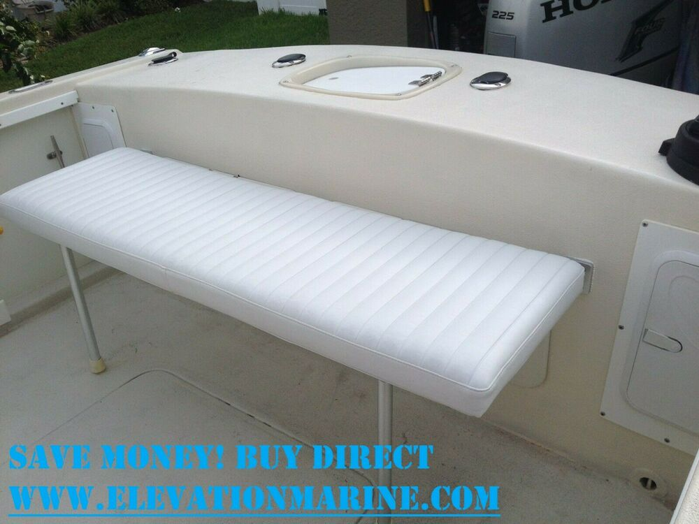 40 Quot Wide Boat Fold Down Bench Seat Bench Seat Boat Fold
