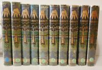 J.R.R. Tolkien, The Hobbit, 1st-10th Impressions, original jackets,w/Fine Hobbit