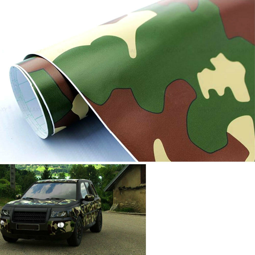 Digital Army Military Camo Desert Vinyl Sheet Film Wrap