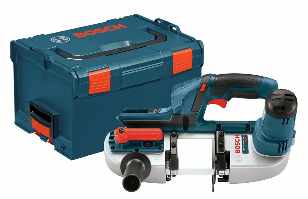 Bosch Bsh180bl 18v Li Ion Band Saw With L Boxx2 Tool Only
