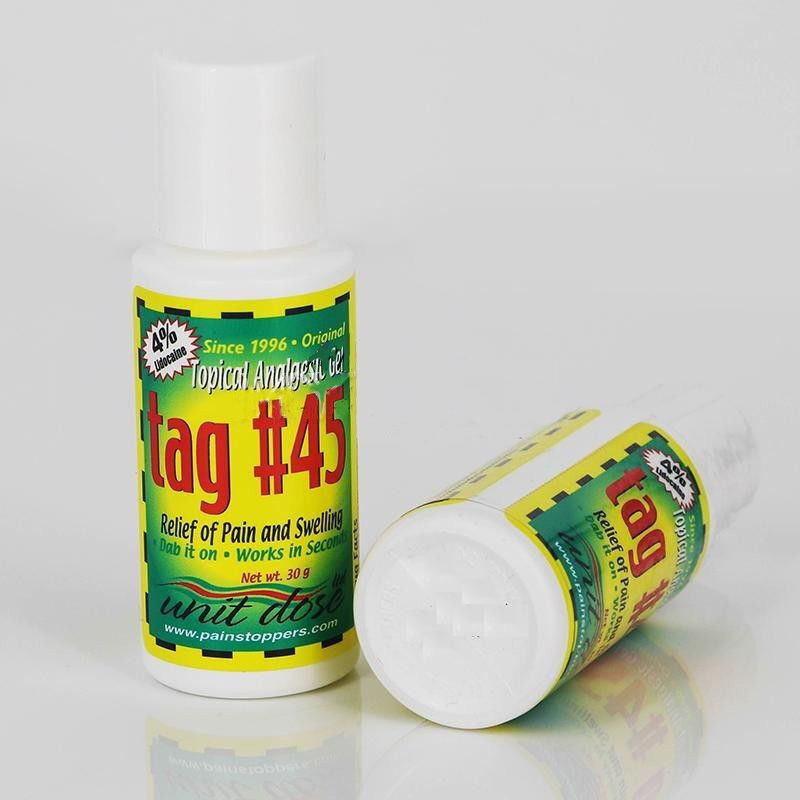 Tag 45 topical anesthetic gel for eyebrow numbing for Waxing over tattoo