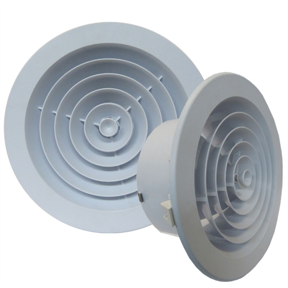 Haron Round Ceiling Vent Jet Diffuser Easy Snap In Aust