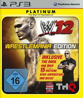 Wrestlemania Edition incl. The Rock und 15 weitere WWE Stars PS3 Playstation 3