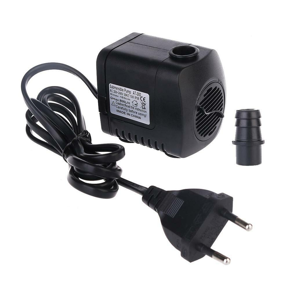 380gph 800l H Aquarium Submersible Air Water Pump Fish