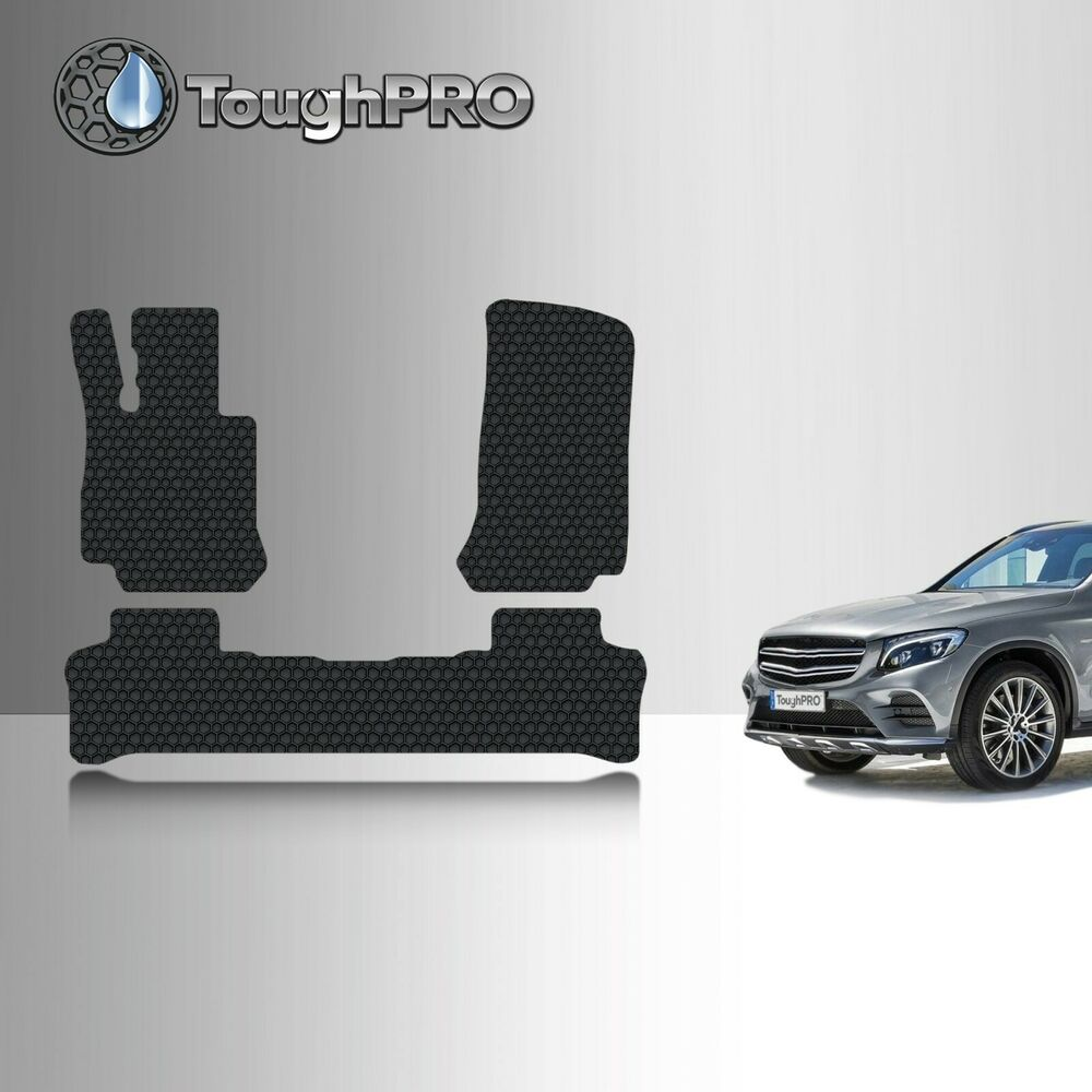Toughpro black rubber heavy duty custom fit 2016 2017 m for Mercedes benz glc 300 accessories