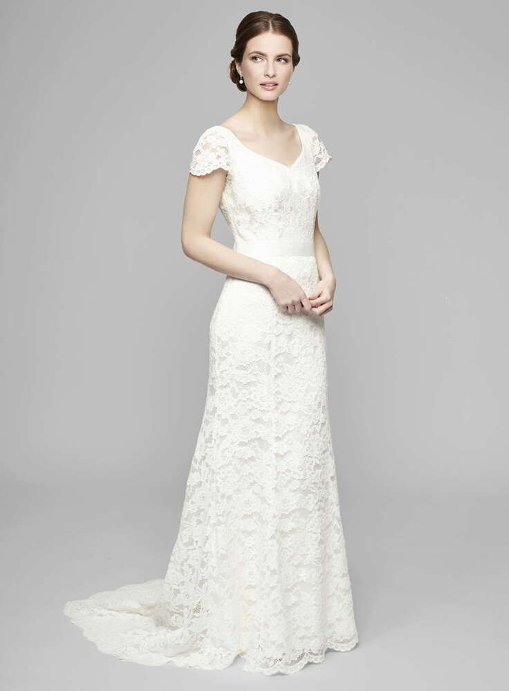 BNWT SIZES 8 22 BHS Ivory Sophie Lace Wedding Dresses RRP GBP150